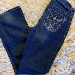 Apt. 9 Bootcut embellished jeans